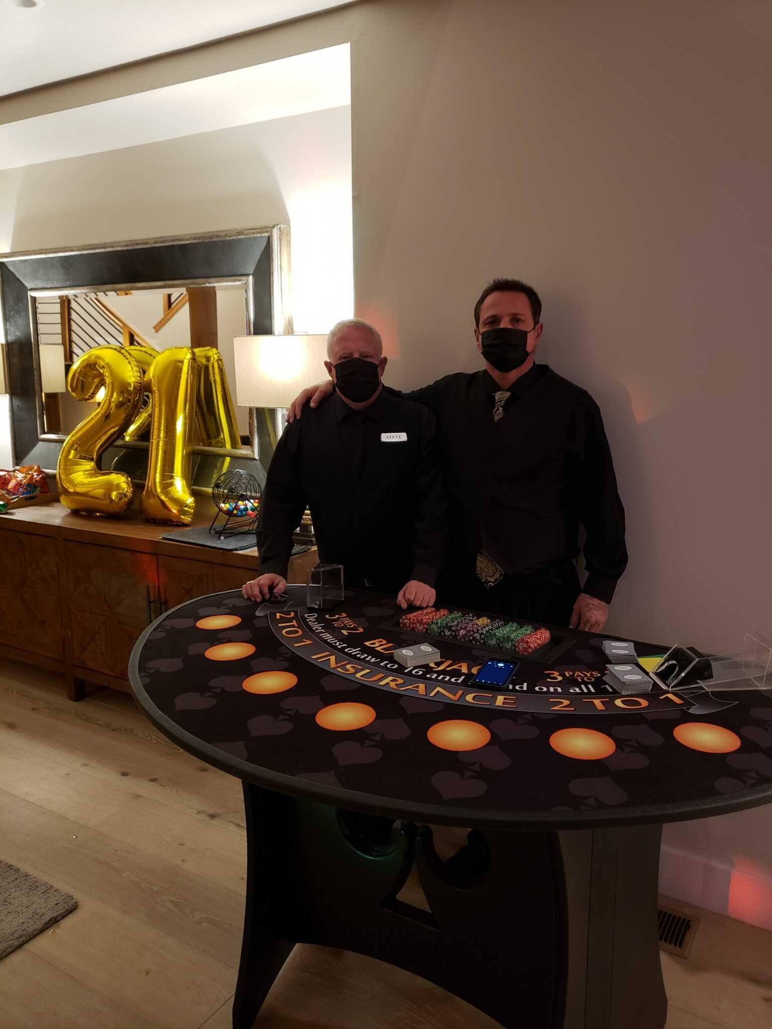 Lake Tahoe Casino Party in [location], [region] Casino Theme Parties